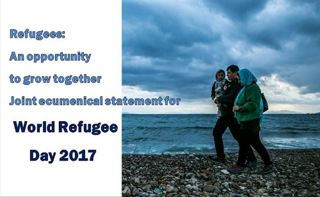 The World Refugee Day June 20th 2017: Refugees: an opportunity to grow together