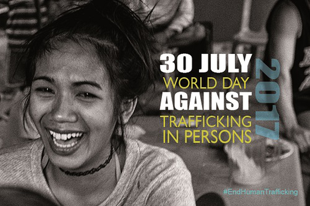 World Day against Trafficking in Persons. July 30, 2017