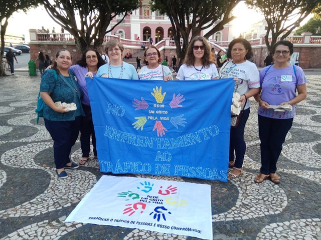 The Semana Coração Azul (Week of the Blue Heart) calls upon Amazon society to reflect on Trafficking in Persons