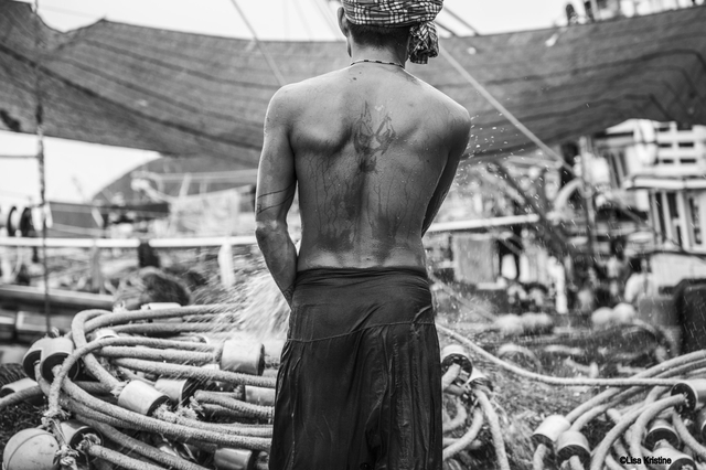 Somchai. Enslaved at sea